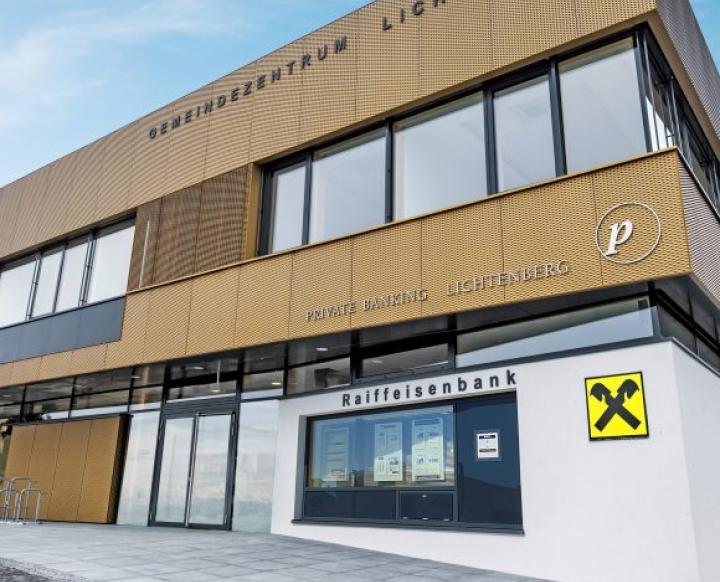 Raiffeisenbank Gramastetten-Herzogsdorf eGen Bankstelle Lichtenberg. Christian Köppl