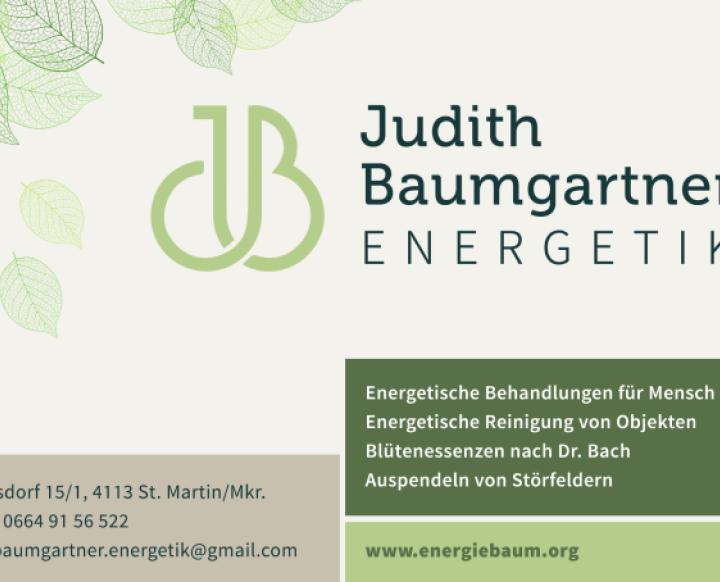 Judith Baumgartner ENERGETIK. Judith Baumgartner