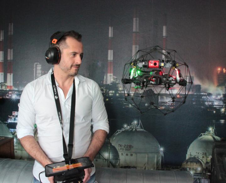 AEROVISION Drone Support GmbH. Markus Rockenschaub