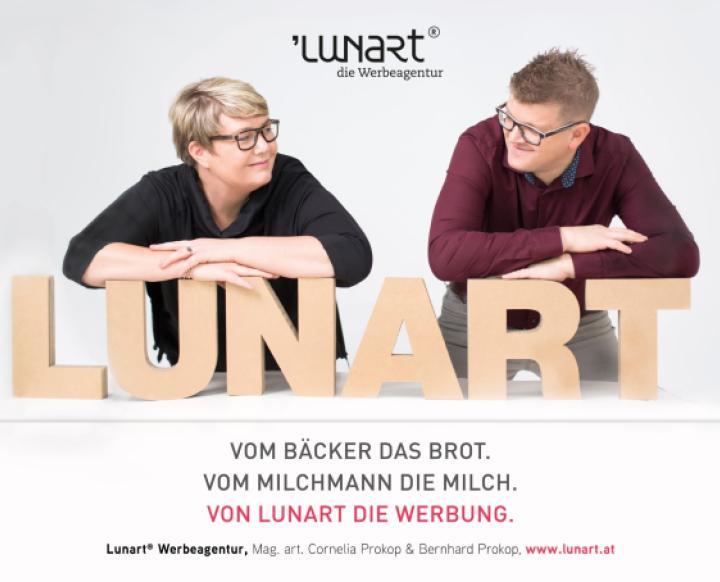 Lunart Werbeagentur, Mag. art. Cornelia Prokop. Cornelia Prokop