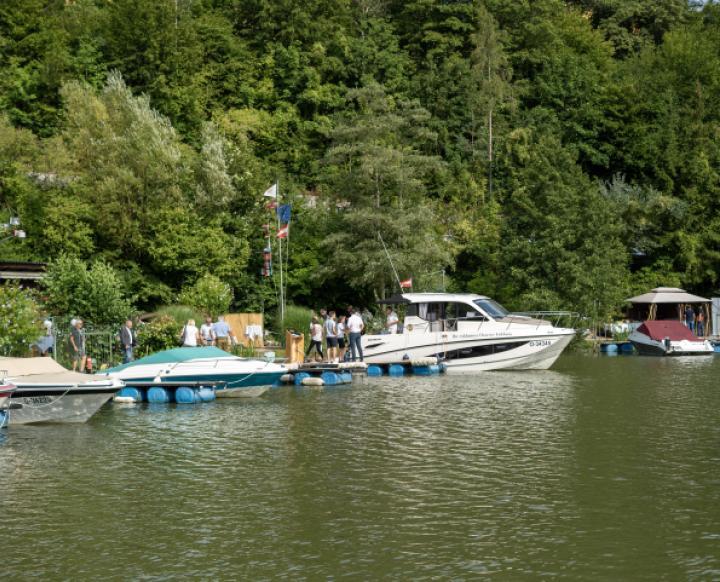 Sportboothafen Untermühl. Thomas Schauer